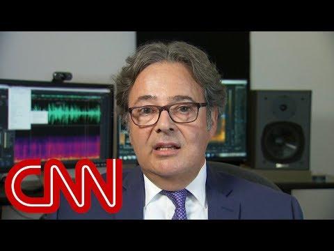 Audio expert examines Trump-Cohen tape