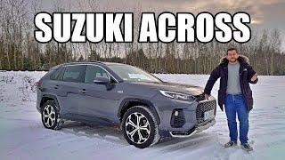 Suzuki Across - dlaczego wygląda jak RAV4? (PL) - test i jazda próbna