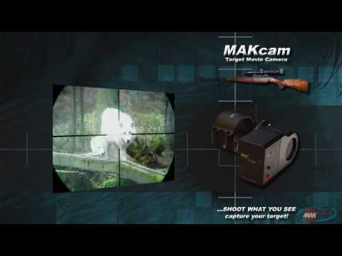 MAKcam - Riflescope movie camera  Trailer