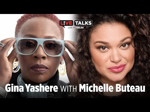 Gina Yashere in conversation with Michelle Buteau at Live Talks Los Angeles