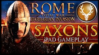 ROME TOTAL WAR: BARBARIAN INVASION - Saxon iPad Gameplay
