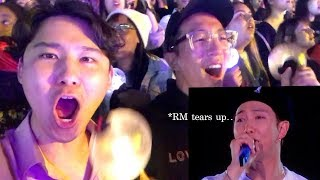 KOREANS FIRST BTS CONCERT IN AMERICA! [LA ROSE BOWL / SPEAK YOURSELF TOUR]