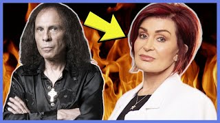 What Sharon Osbourne Really Thinks About Ronnie James Dio | Rock N Roll Stories