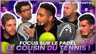 Focus sur le padel, le cousin du tennis ! | House of Sports