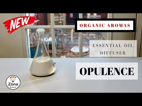 😍-organic-aromas-❤️-opulence-❤️-nebulizing-essential-oil-diffuser---review-✅