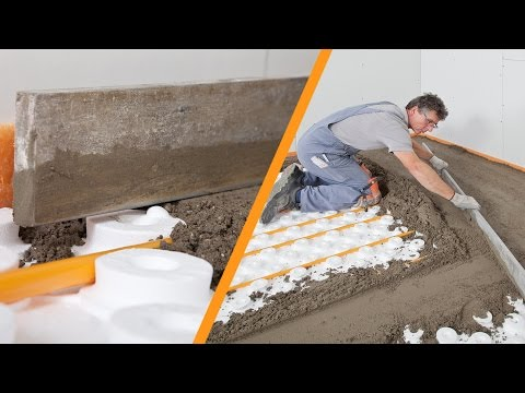 Schlüter-BEKOTEC and BEKOTEC-SCREED-DPS modular screed system