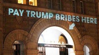 Artist Trolls Trump's Hotel