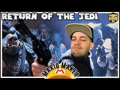Using The Force To Save The Jedi! 0.05% Clear Rate! Mario Maker