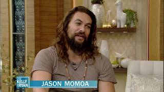 Jason Momoa Talks About His and <b>Lisa Bonet's</b> Kids