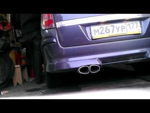 irmscher exhaust sound z16xer (astra h) - youtube