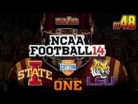 MWG -- NCAA Football 14 -- Iowa State Dynasty, Part 48