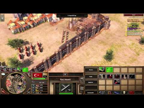 Age of Empires 3 - Gameplay (HD) The Ottomans