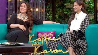 Kareena Kapoor Khan & Sonam Kapoor on Koffee With Karan Season 5 Episode 11 | BEST MOMENTS