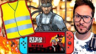 Gilets Jaunes, violence et jeu vidéo ! New Nintendo Switch et Red Dead Reggie répond...
