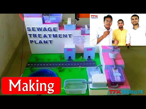 Sewage Treatment Plant (Making)