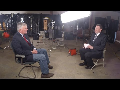 CBS North Carolina interviews Franklin Graham about Billy Graham's 98th birthday