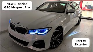 NEW BMW 3-series G20 M-sport Part 1 - Exterior 2019