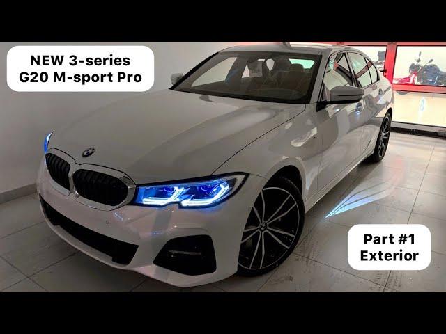 New Bmw 320d Xdrive G20 M Sport Pro Part 1 Exterior 2019 Youtubedownload Pro