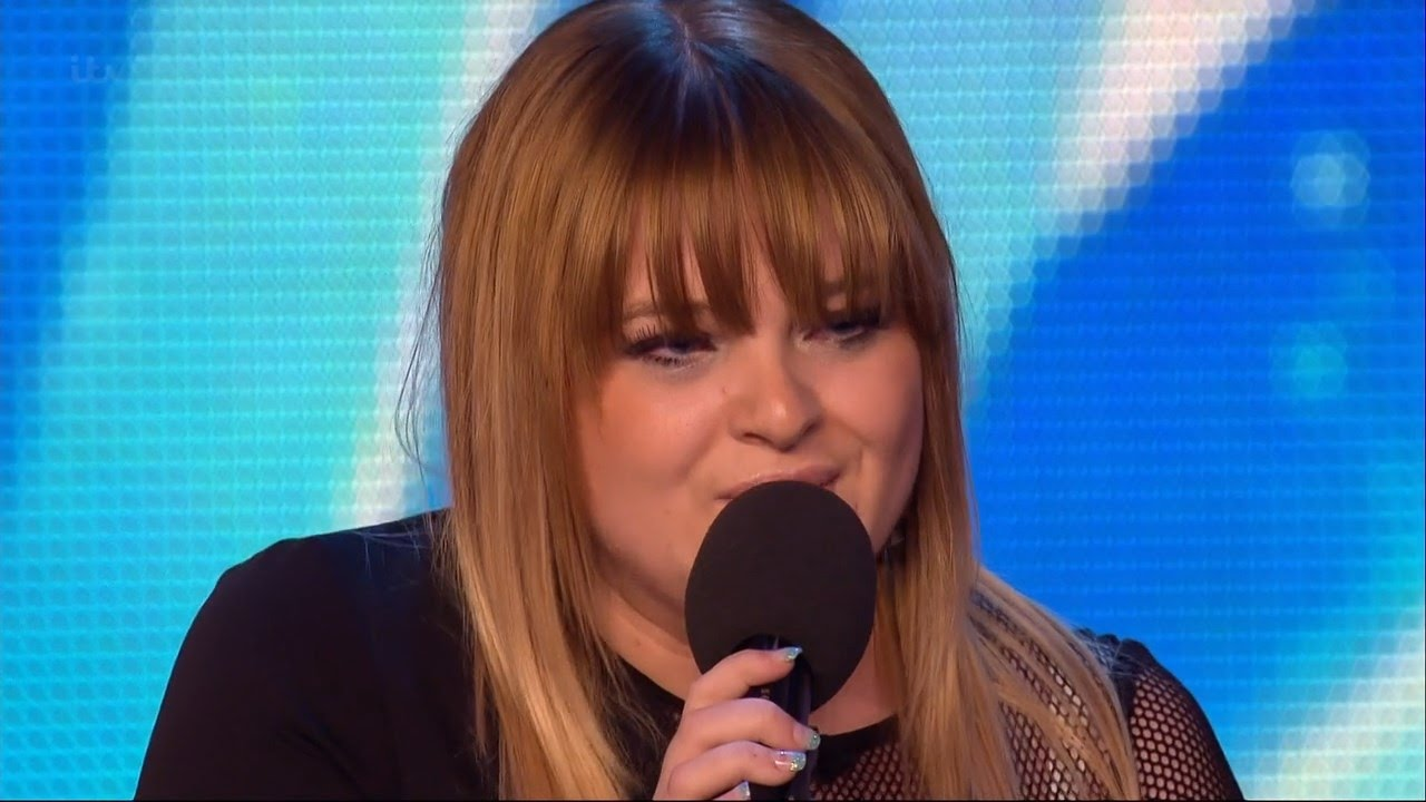 Britain S Got Talent 2015 S09e01 Jade Scott Performs Before Her Brother Calum Full Video Youtube