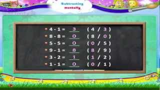 Subtraction Lesson For Kids   Subtracting Numbers Mentally   Maths   Grade 1
