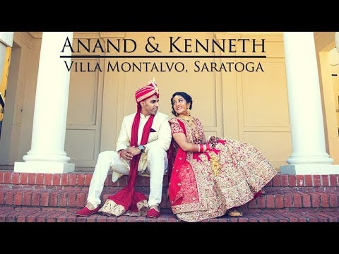 Anand & Kenneth | Luxurious Indian Wedding at Villa Montalvo, Saratoga California