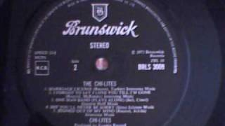CHI -LITES  -  BET YOU`LL NEVER BE SORRY