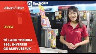 Tủ lạnh Toshiba 186L Inverter GR-M25VUBZ/UK