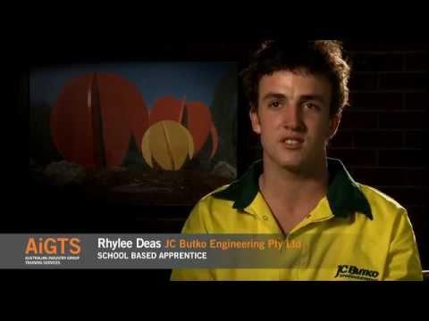 Engineering Apprenticeships - AiGTS - Rhylee Deas   Engineering / Manufacturing