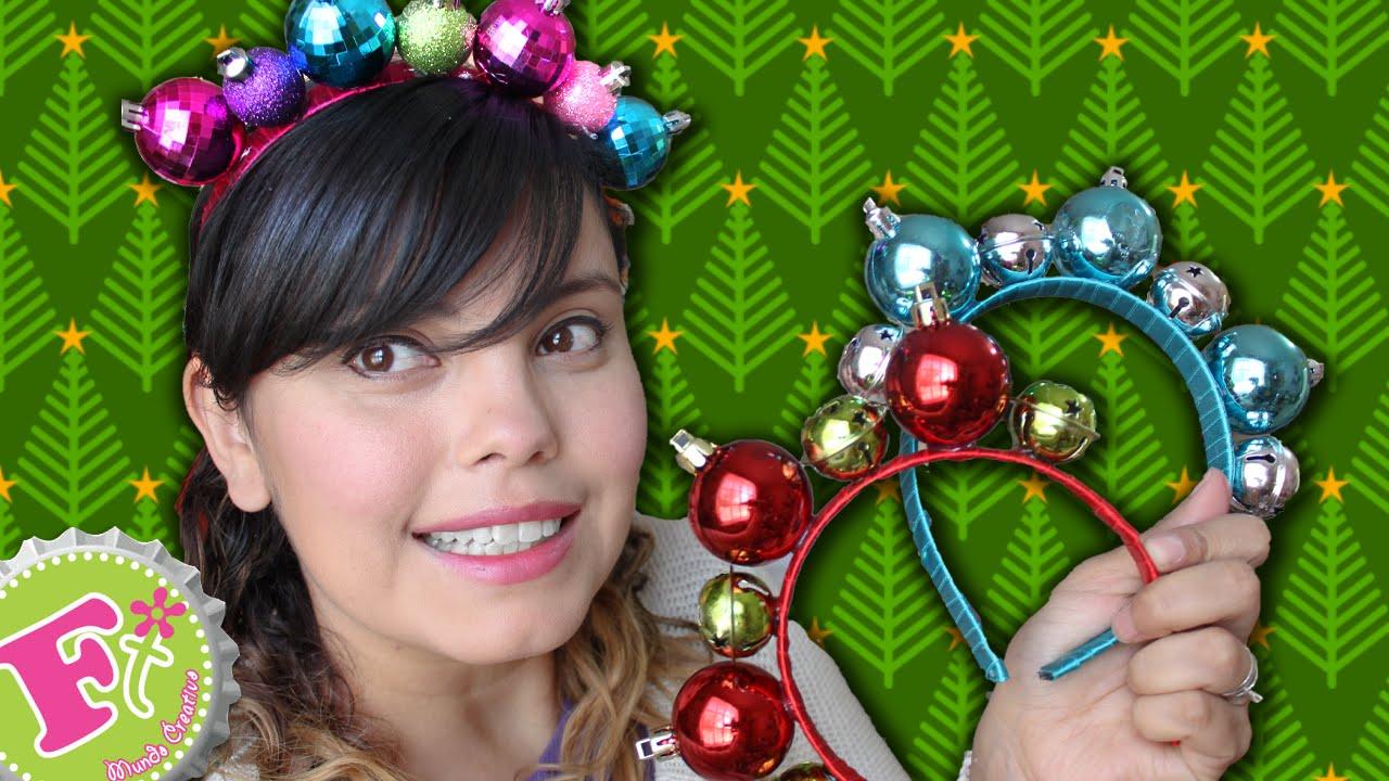 Diy diadema de esferas para navidad youtube - Esferas de navidad ...