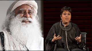 Sadhguru Jaggi Vasudev shuts up Barkha Dutt like a boss, Must Watch for every NATIONALIST thumbnail