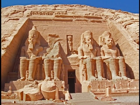 Minecraft 11500 BC - historic reconstuction of ancients Egypt Abu Simbel & Temple of Hathor