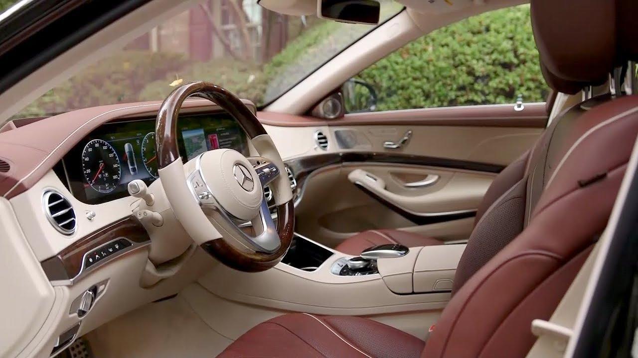 Mercedes 2017 4matic >> 2018 Mercedes-Benz S560 4MATIC - Interior (US Spec) - YouTube