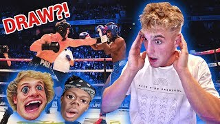 REACTING TO KSI VS. LOGAN PAUL!! (FULL FIGHT)