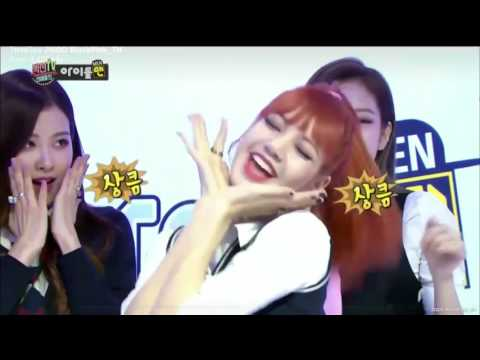 Blackpink Lisa rap so cute MBC TV ♥♥