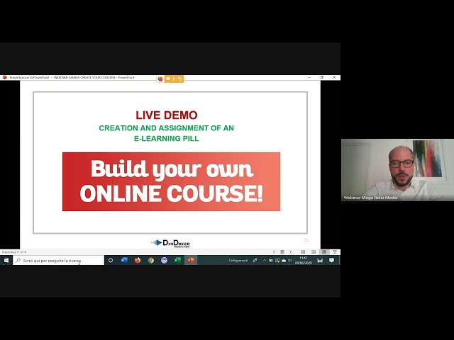 Create your own eLearning content - DynDevice Webinar