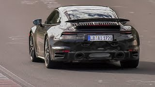 Nürburgring Prototype Testing: 2019 Porsche 992 Turbo, Porsche Taycan, BMW X5M, Jaguar Project 8 etc