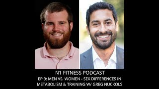 9: Men vs. Women - Sex Differences in Metabolism & Training w/ Greg Nuckols