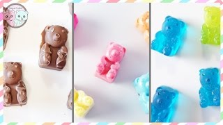 3 WAYS TO MAKE GUMMY BEARS - SUGARCODER