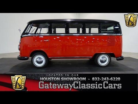1967 Volkswagen Micro Deluxe Bus Gateway Classic Cars #668 Houston Showroom