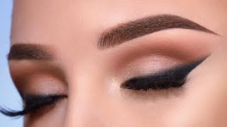 Soft Cut Crease & Smoked Out Eyeliner | Makeup Tutorial