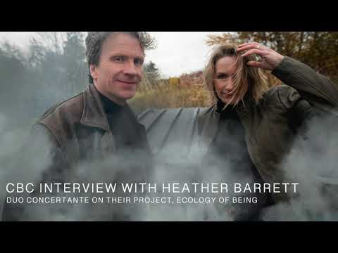 Duo Concertante - EOB Interview with CBC's Heather Barrett