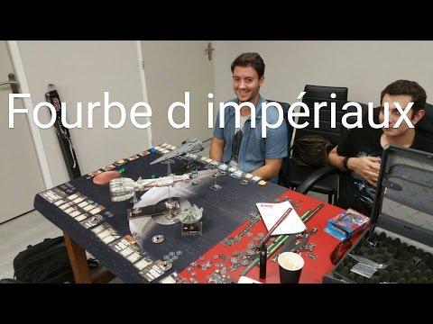 Star Wars X-Wing - jeu de figurines tuto fr
