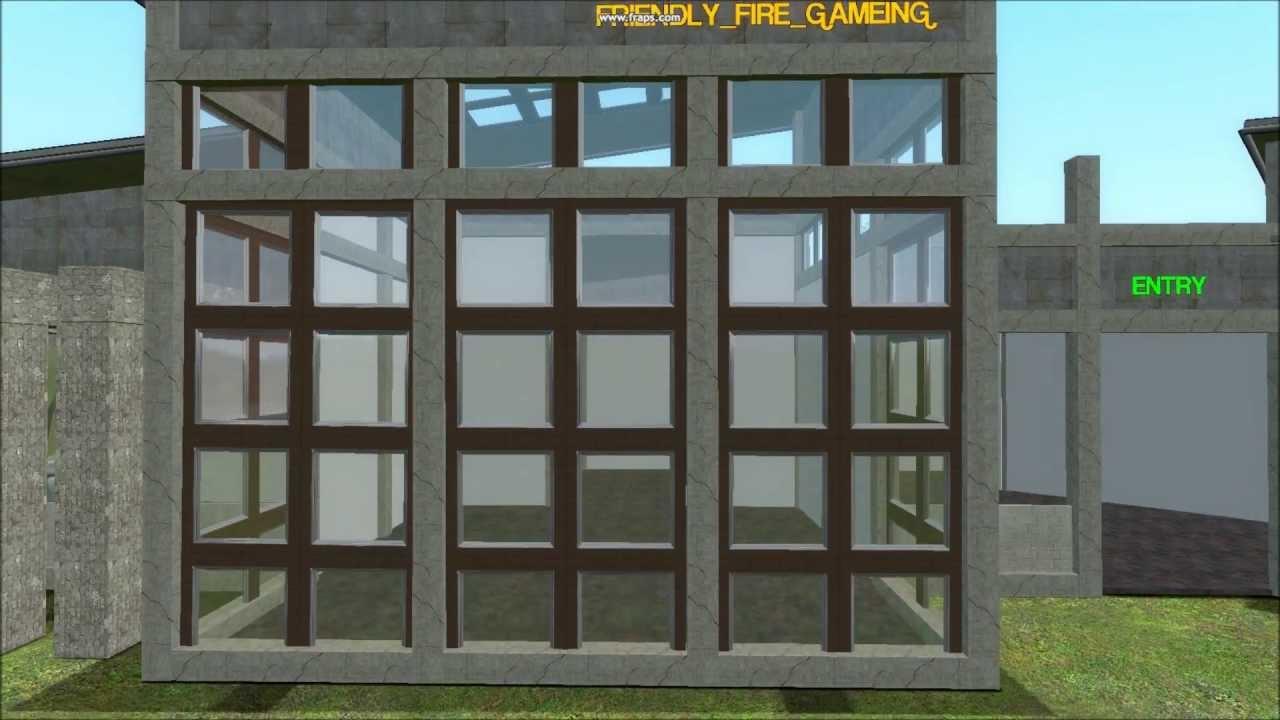 Garrys Mod Office Building My Original Design YouTube