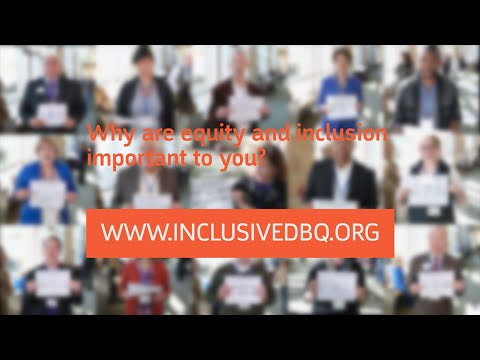 Why are equity and inclusion important to you?