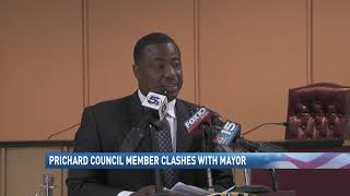 Prichard mayor clashes with councilman over city's financial crisis - NBC 15 News, WPMI