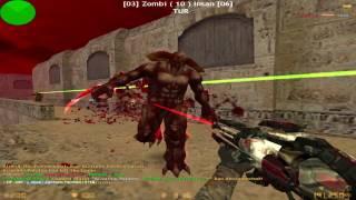 Counter Strike 1.6 - Zombie Escape - [NEMESIS MOD] | World War'Z