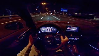 2019 Audi RS4 Quattro Avant POV Night Test Drive by AutoTopNL