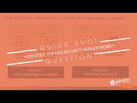 How Does the DNS Security Service Work? Learning Happy Hour Quick Shot