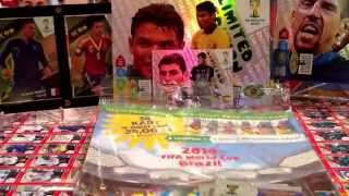 UNBOXING MULTIPACK PANINI WORLD CUP BRAZIL 2014