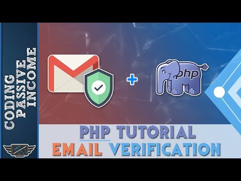 PHP Email Verification And Validation Tutorial - Registratio